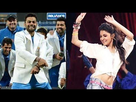Anushka Sharma's Special Performance For Virat Kohli video