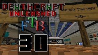 DeathCraft FTB Unleashed SMP - Ep 30 - [PRANK] Decoration Ideas for Brink!