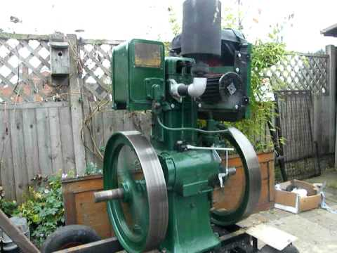 lister cs diesel 5/1 stationary engine