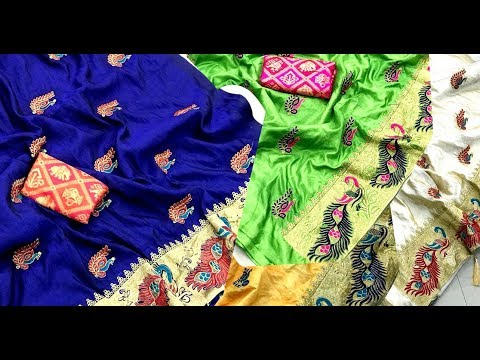 SANA SILK DESIGNER SAREE WITH blouse|| Beautiful collection SANA SILK saree