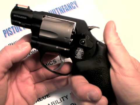 S&W M&P 360 revolver:  Hard Kickin' Featherweight