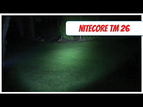 NiteCore TM26 Review - KC3FSX