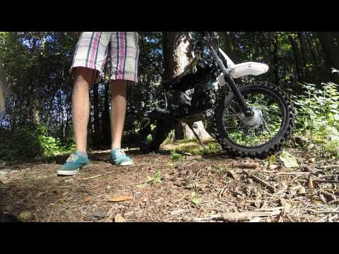 Orion 125cc pitbike Sound test no exhaust