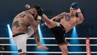 Michael Smolik WM Titlelverteidigung durch spektakulären Highkick Knockout | TEAM SMOLIK