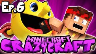 Minecraft  CRAZY CRAFT 3.0 | Ep 6 : PACMAN ATTACKS! (Crazy Craft Modded Survival)