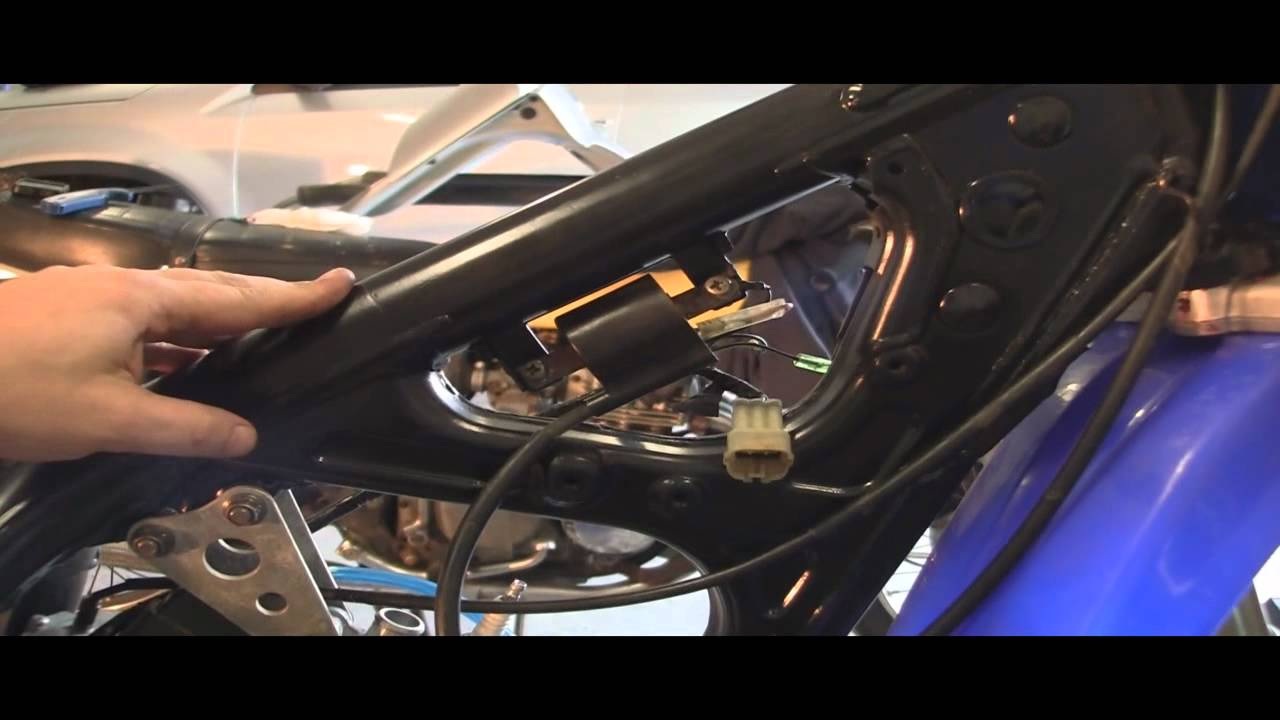 YZ125 Part 31 2 CDI Coil and Kill Switch YouTube