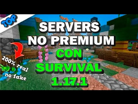 TOP 3 SERVERS CON SURVIVAL 1.12.2 l MINECRAFT NO PREMIUM