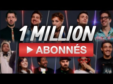 1 million d'abonnés : Merci !