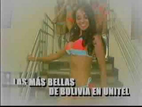 Las Mas Bellas de BOLIVIA Miss Bolivia Dominique Peltier VIVA BOLIVIA UNIDA CARAJO!!!