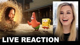 The SpongeBob Movie Sponge on the Run Trailer REACTION