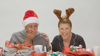 Jodie Sweetin Joins Kalen Allen in Ugly Christmas Sweater DIY Challenge