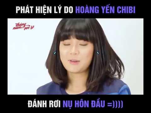 Phát hiện lý do Hoàng Yến Chibi đánh rơi nụ hôn đầu