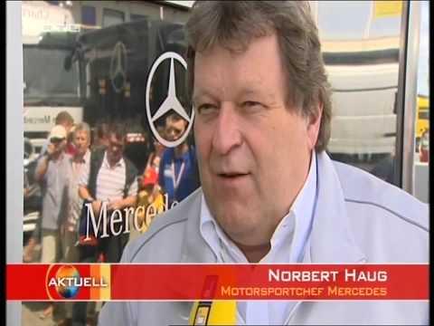 Michael Schumacher Comeback erste Testrunden im Ferrari