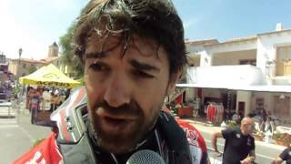 Sardegna Rally Race 2015: Carlos Checa sul traguardo del rally