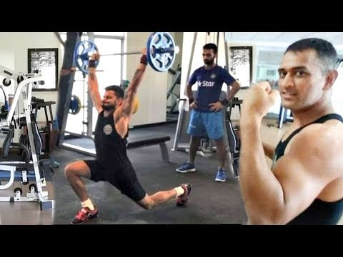 Virat Kohli & MS Dhoni GYM Workout Videos LEAKED |2019 world cup Preparations |