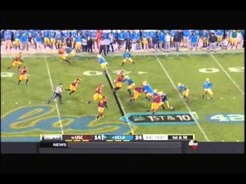 UCLA Football Highlights vs. USC, 2014