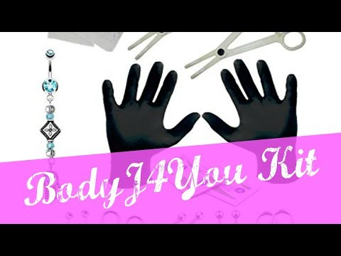 Amazon Body4You 16G and 14G Body Piercing Kit 36 Pieces Review   CupkakeLoving