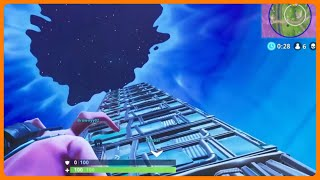 Fortnite | Tallest Tower youve seen | Funny Moments | Bursts Are Nice