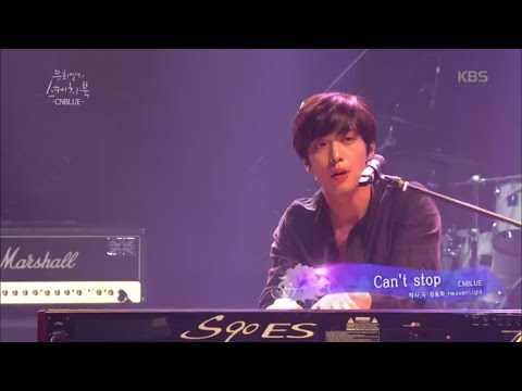 [kbsworld] 유희열의 스케치북 - CNBLUE-Can't Stop.20150918