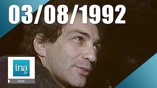 19/20 FR3 du 3 août 1992 - Mort de Michel Berger | Archive INA