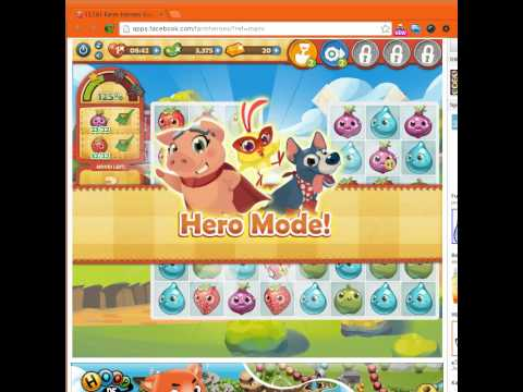 Farm Heroes Saga Level 8 tractor booster DEMO