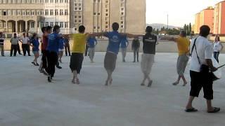 Kırklareli belediyesi halk oyunları ekibi prova