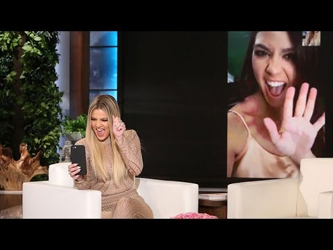 Khloe Kardashian Takes Over 'The Ellen DeGeneres Show,' Says She's 'Literally Trembling With Fear'