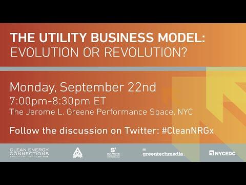 The Utility Business Model: Evolution or Revolution?