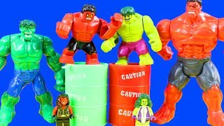 Lego Marvel Superheroes Hulk Smash Battles Red Hulk Imaginext Giant Mutant Joker Eats Yucky Slime