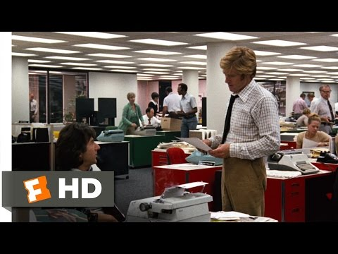 All The President's Men (2/9) Movie CLIP - You're Both On The Story (1976) HD