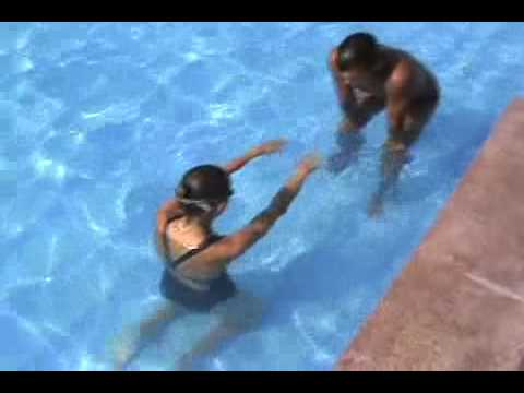 Vk Sava -  Swimming Lessons For Beginners - Step 1 video