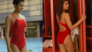 Priyanka Chopra-Dwayne Johnson-Zac Efron HOT Baywatch Poster   4th of July