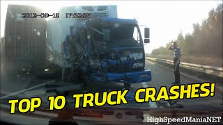 Top 10 WORST TRUCK ACCIDENTS COMPILATION! - [ 2014 ]