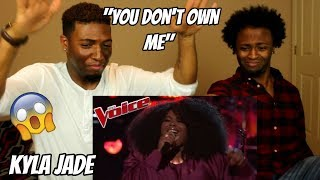 "Download Lagu The Voice 2018 Knockout - Kyla Jade: ""You Don't Own Me"" (REACTION) Gratis STAFABAND"