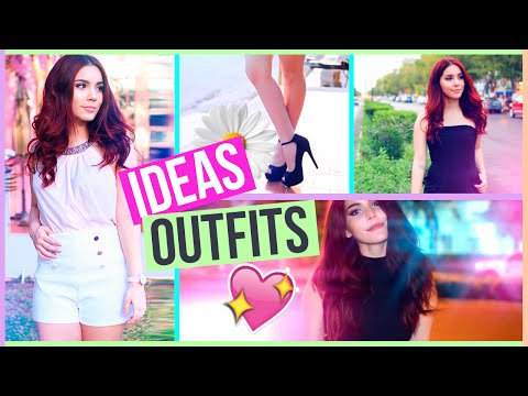 IDEAS DE OUTFITS PARA PRIMAVERA O VERANO (Lookbook) ♥ Jimena Aguilar