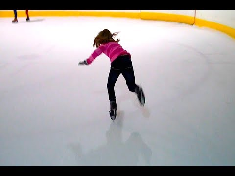 ICE SKATING IS AWESOME