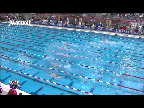 Men&#039;s 100m Backstroke A Final - 2012 Columbus Grand Prix