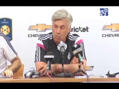 Manchester United-Real Madrid: conferencia de prensa de Carlo Ancelotti