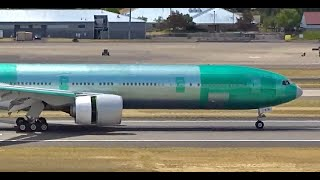 (HD) 45+ Minutes Watching Airplanes - Plane Spotting Portland International Airport KPDX / PDX