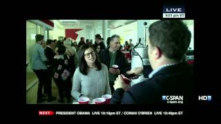 House of Cards at 2013 White House Correspondents Dinner (C-SPAN)