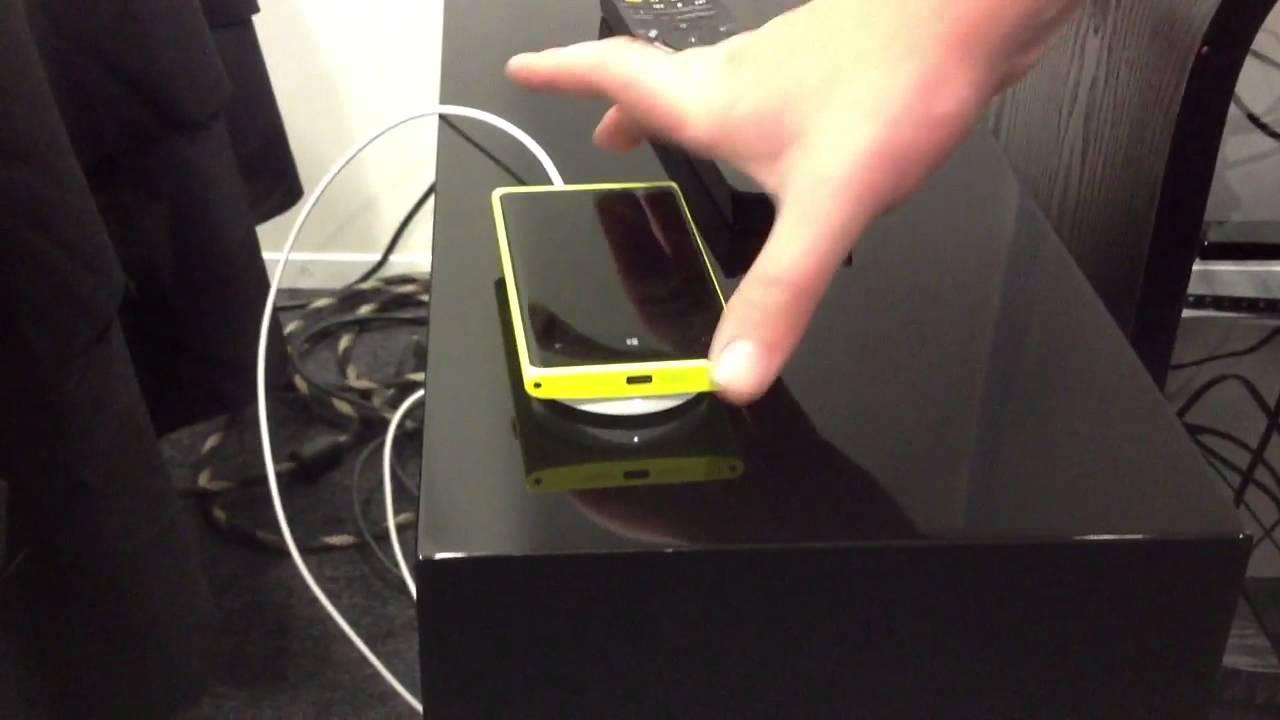 Беспроводная зарядка  lumia