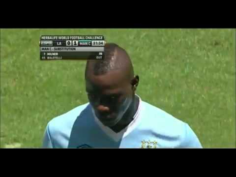 Balotelli failed trick shot