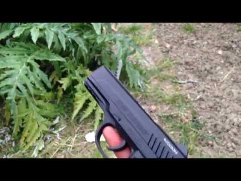 Gamo PT-85 Blowback unboxing & test ITA