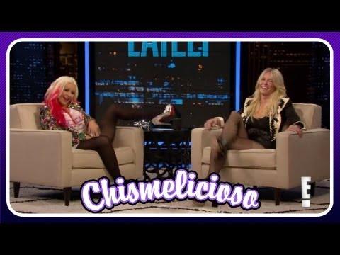 Christina Aguilera Sin Calzones!