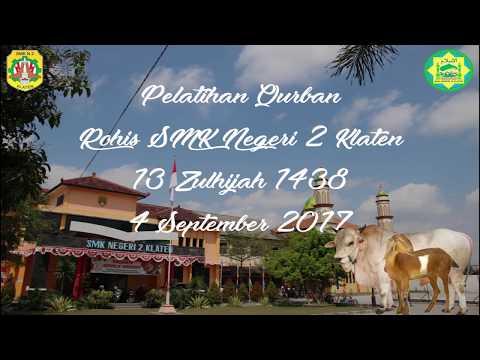Pelatihan Qurban Rohis SMK Negeri 2 Klaten 1438 H/2017