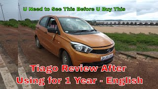 Tata Tiago Review after Using for 1 Year in English