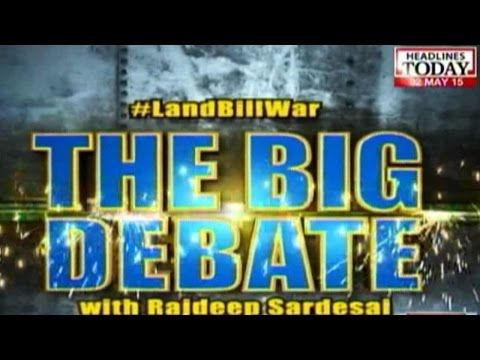 The Big Land Bill Debate: Nitin Gadkari Vs Digvijaya Singh