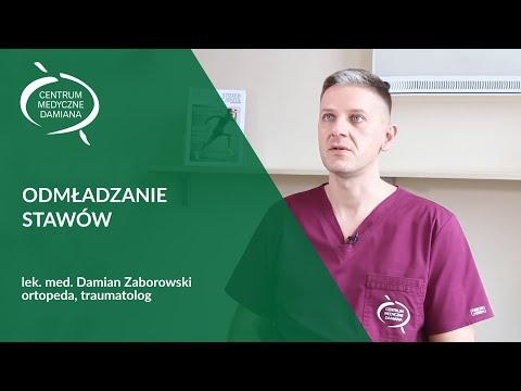 Odmładzanie Stawów Warszawa - Ortopeda Lek. Med. Damian Zaborowski