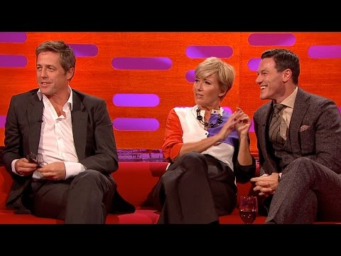 LUKE EVANS Stars in Dracula Untold or Dracula On Toast? - The Graham Norton Show on BBC AMERICA