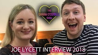 Joe Lycett interview with Sarah O'Connell 2018
